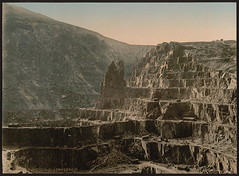 [Slate quarries, Bethesda, Wales] (LOC) | by The Library of Congress