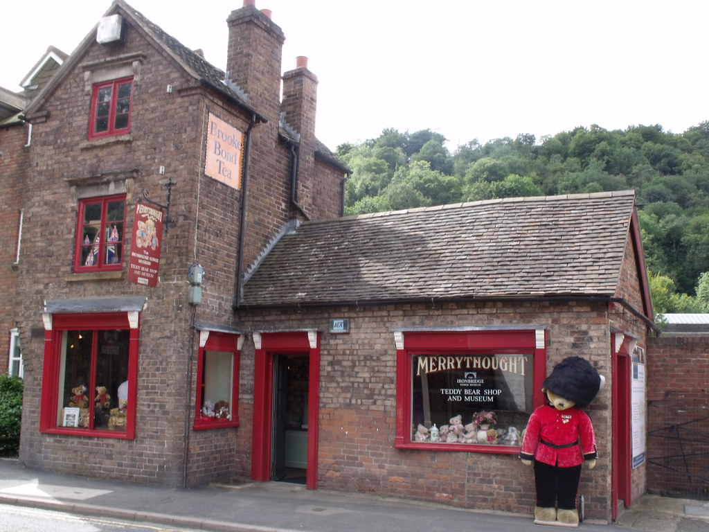 Merrythought teddy bear shop and museum in ironbridge - Tedy shop ...