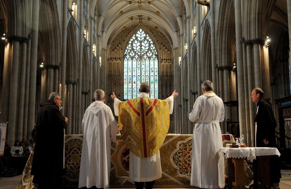 York Minster Catholic Mass Please Credit