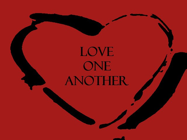 Love One Another: Love One Another Title Slide