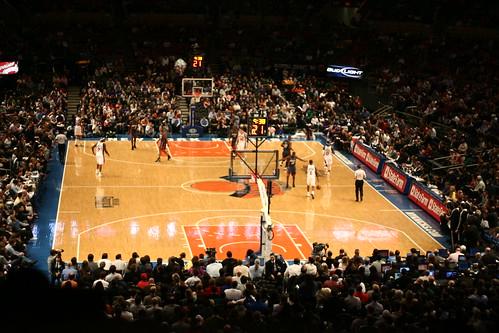 Madison Square Garden Basketball Game Flickr Photo Sharing