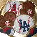 Los Angeles Angels of Anaheim - Los Angeles Dodgers Cookies