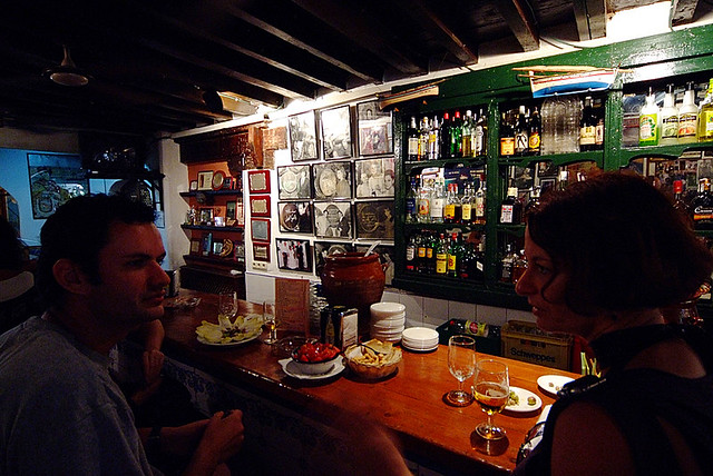 Malaga The Bodega Bar El Pimpi Www Fredshivelyphotography Flickr