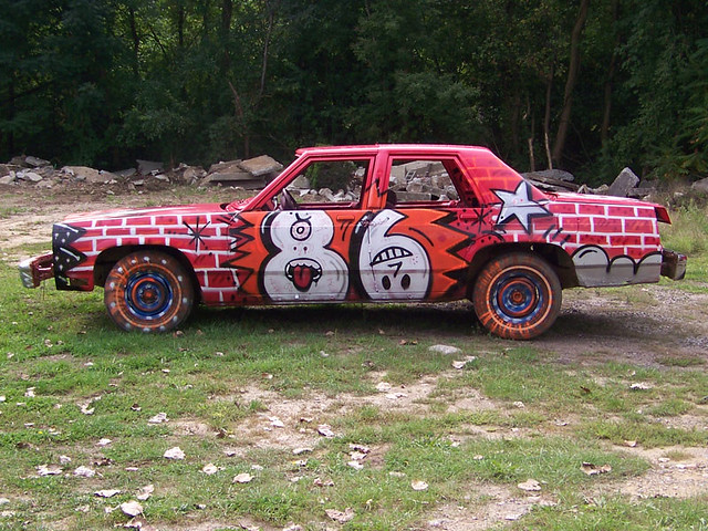 Demolition Derby Car Thunder Circus Flickr - Derby cars