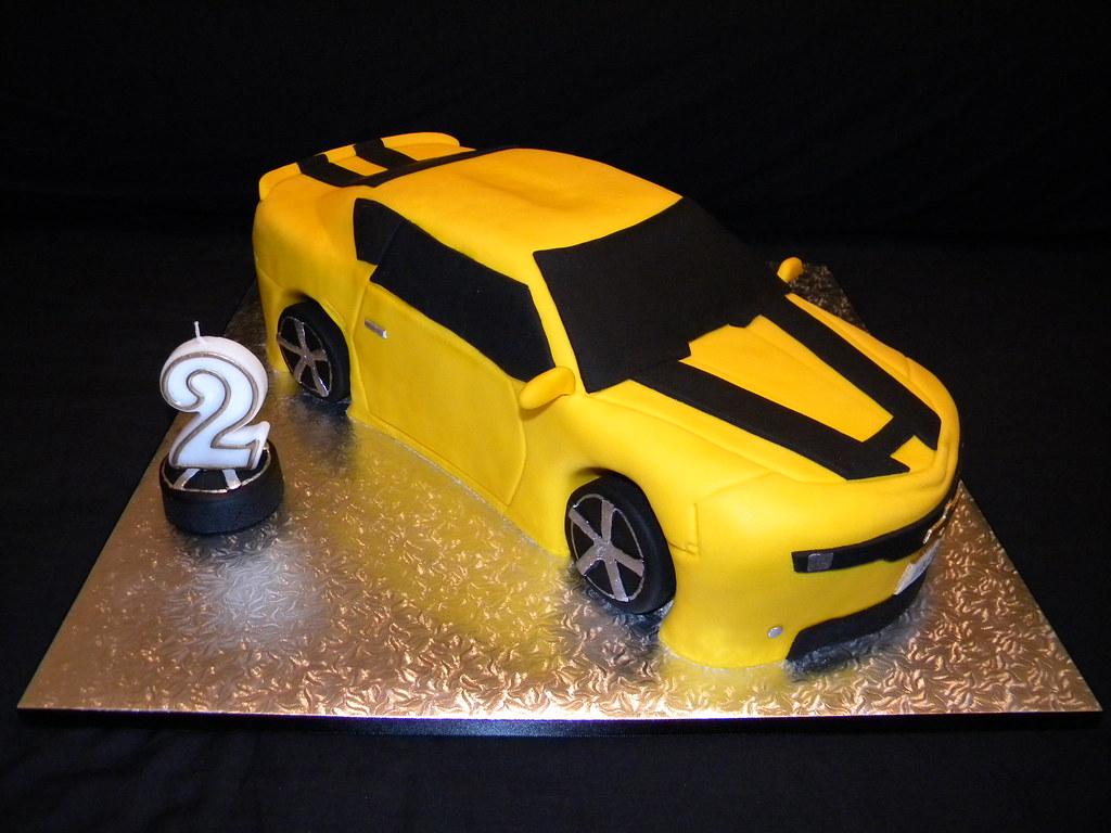 Bumblebee Camaro Cake A 14 Quot Yellow Camaro For A