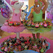 Angelina Ballerina Cupcake Tower