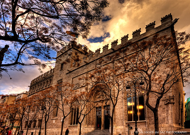 La Lonja de la Seda (Silk Exchange)  Coming back to HDR pho…  Flickr
