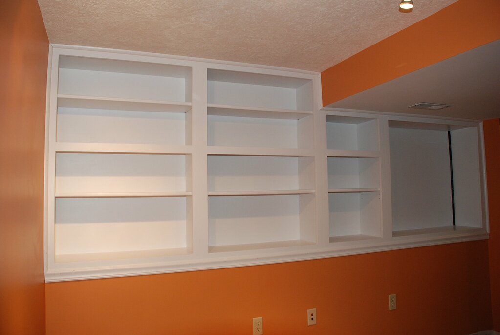 basement cabinets made in a friends shop the week before n