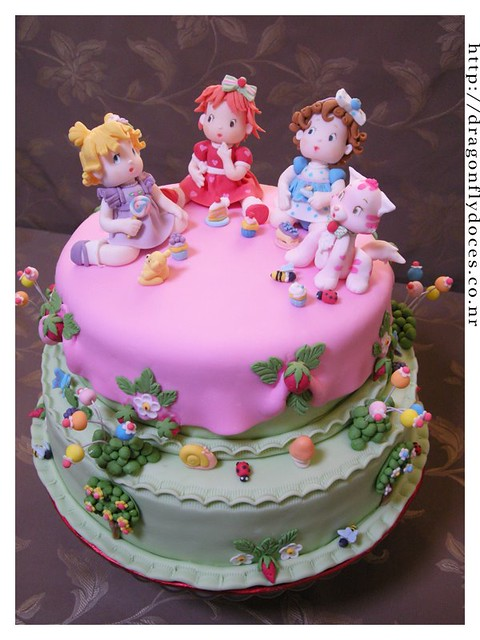Birthday Cake Strawberry Decoration