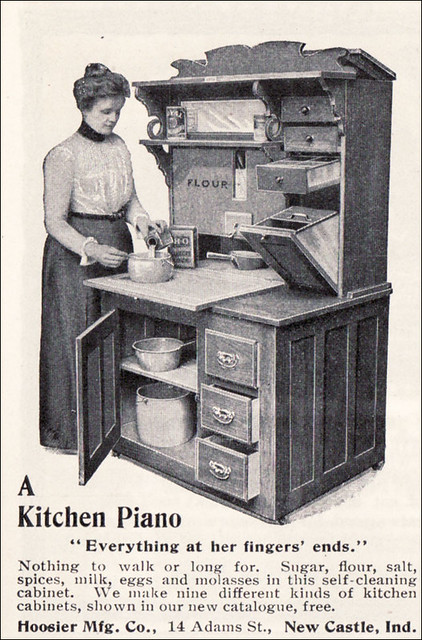 1901 Hoosier Cabinet A Kitchen Piano This Is The