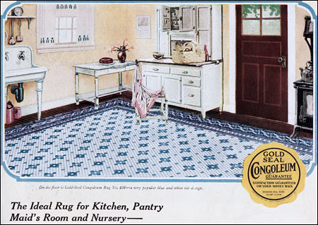1923 Congoleum Kitchen Rug Source House Amp Garden Flickr