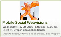 Mobile Social Webvisions Tout | by Hugger Industries