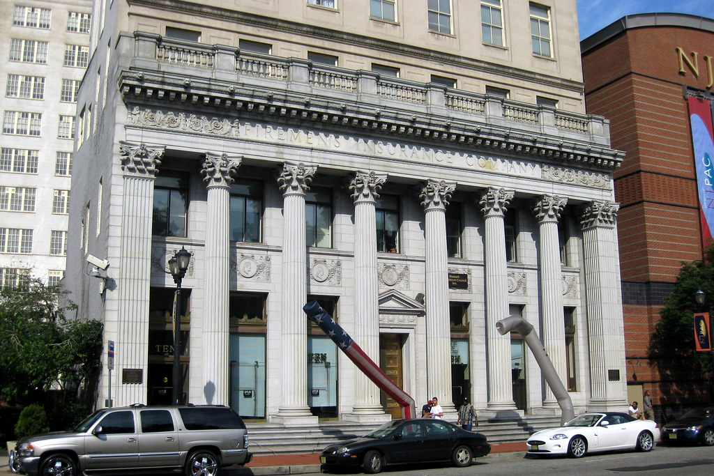 NJ - Newark: Firemen's Insurance Company Building | The ...