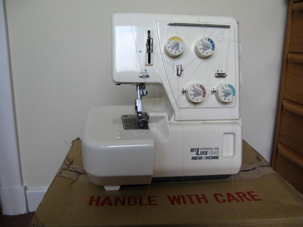free manual janome overlocker 134d