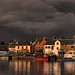 365-072 Stornoway Harbour Panorama from dockside