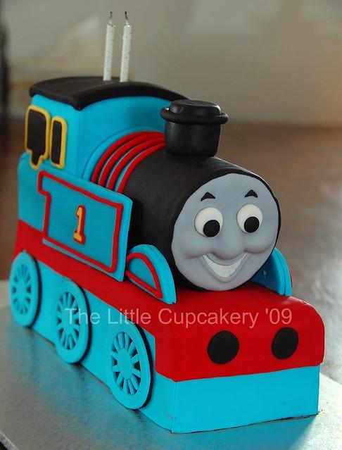 Jaxon S Thomas The Tank Engine 2nd Birthday Cake For My