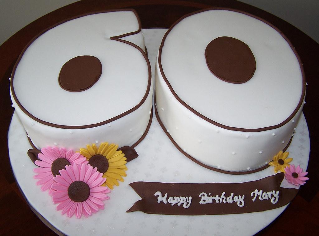 Number 60 Cake Happy Birthday Mary Beth Flickr