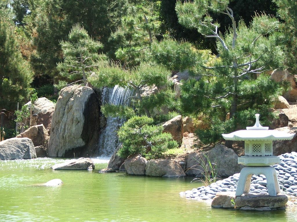 Japanese friendship garden waterfall gallery for Japanese friendship garden