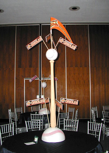 Baseball Theme Centerpiece The Prop Factory Flickr