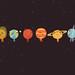 Solar System desktop dark