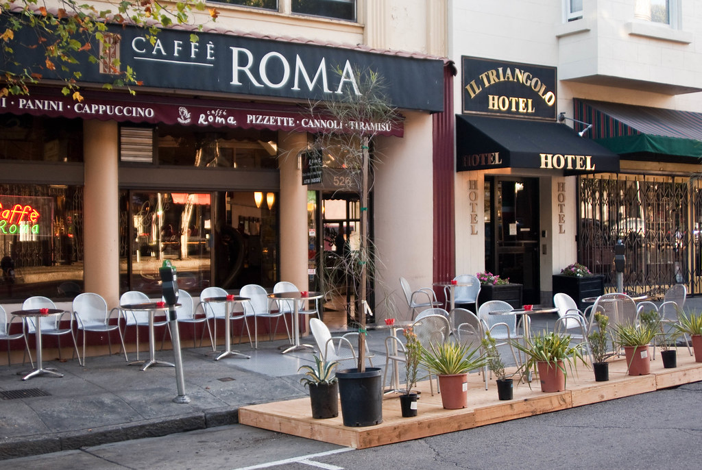 Image result for cafe roma north beach