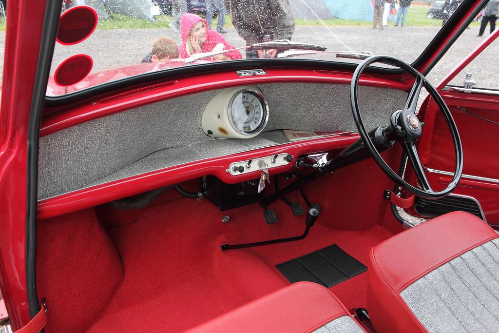 Morris Mini Minor Interior Amp Dash C1961 850cc Straight