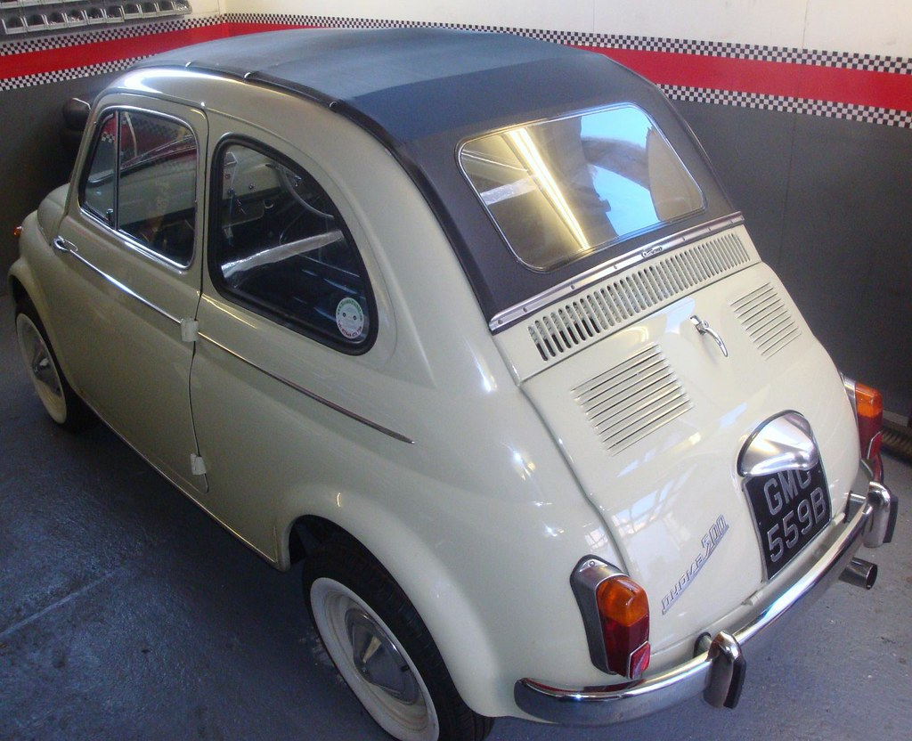 fiat 500 d 1964 verde chiaro see more pictures in this. Black Bedroom Furniture Sets. Home Design Ideas