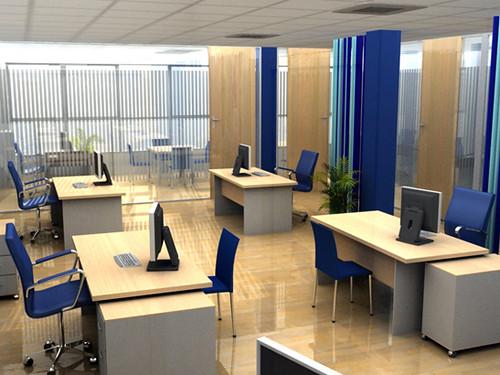 Oficinas 3d shayver el cliente hab a cambiado la for Planos de oficinas administrativas