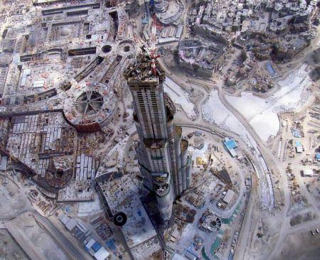 Burj Khalifa Top View Pics Burj Dubai Top View   by my