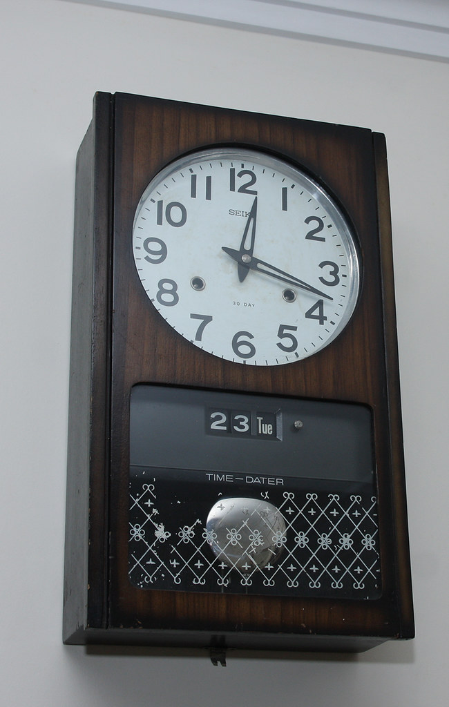 Seiko Wall Clock An Art Deco Pendulum Wall Clock