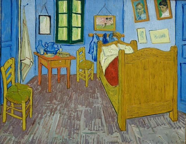 vincent van gogh la chambre arles 1889 flickr