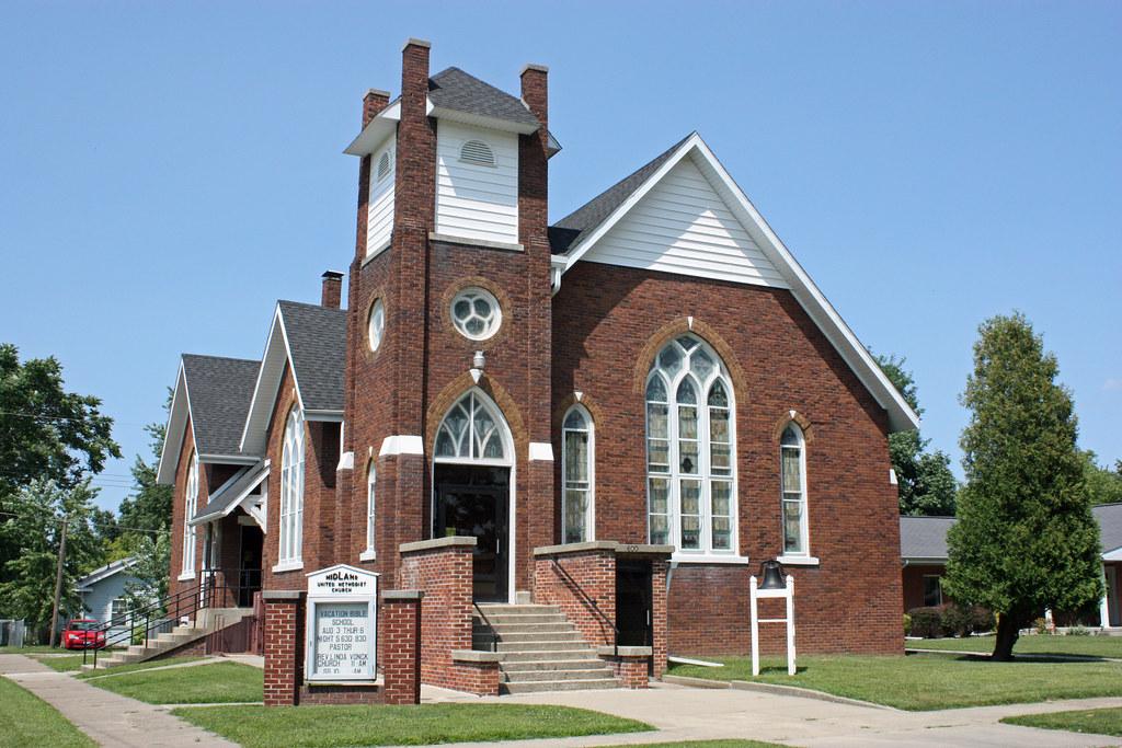 Kincaid Il Midland United Methodist Church Kincaid Is