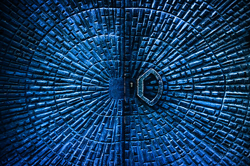 The Blue Pattern Door | by Martin Gommel
