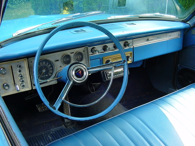 1964 Plymouth Valiant Interior 1964 Plymouth Valiant It