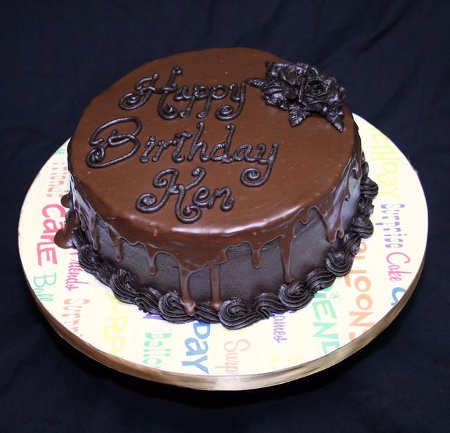Kim In CajunCountry Chocolate Ganache Cake