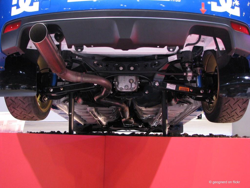 Subaru Impreza WRX STi rally car underside | geognerd | Flickr