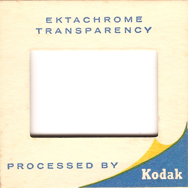 kodak ektachrome slide frame by skeptical beowulf