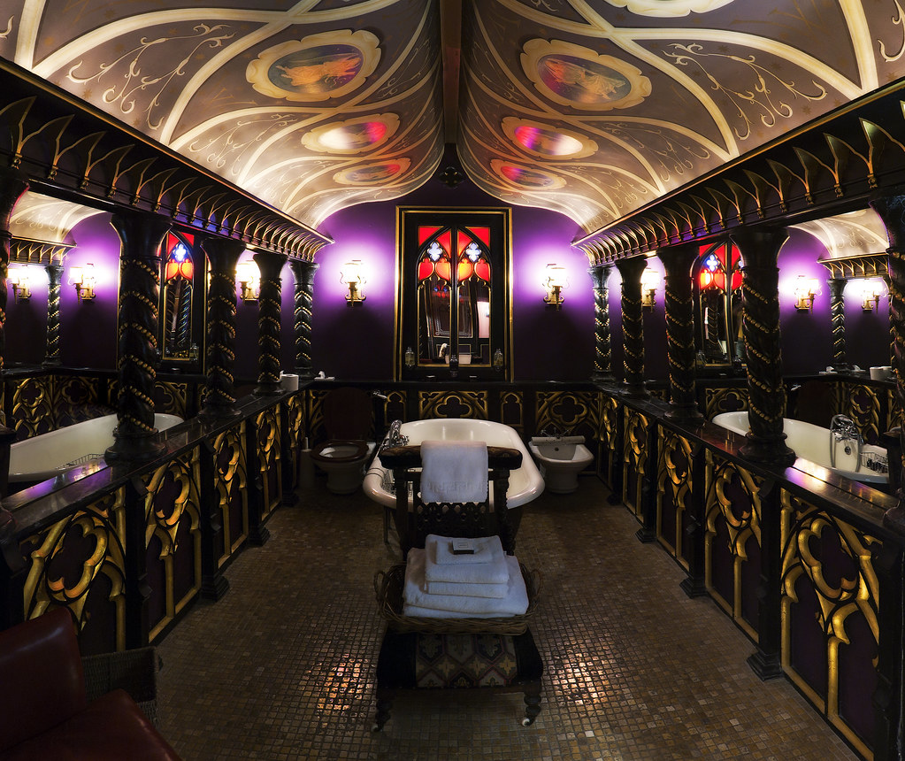 The Witchery Hotel Edinburgh This Is The Bathroom Of