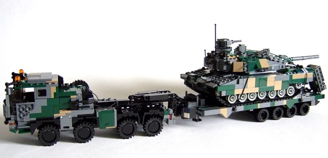 Transporting Leopard 2a7 The Powerful Faran Can Be Used