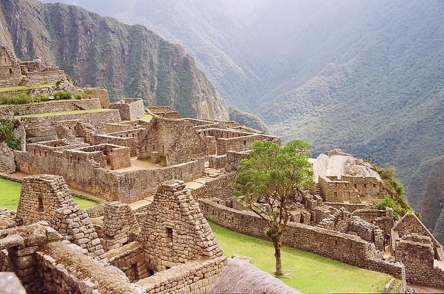 Urubamba Valley View from Machu Picchu - RETURN OF THE INCASUrubamba Valley Map