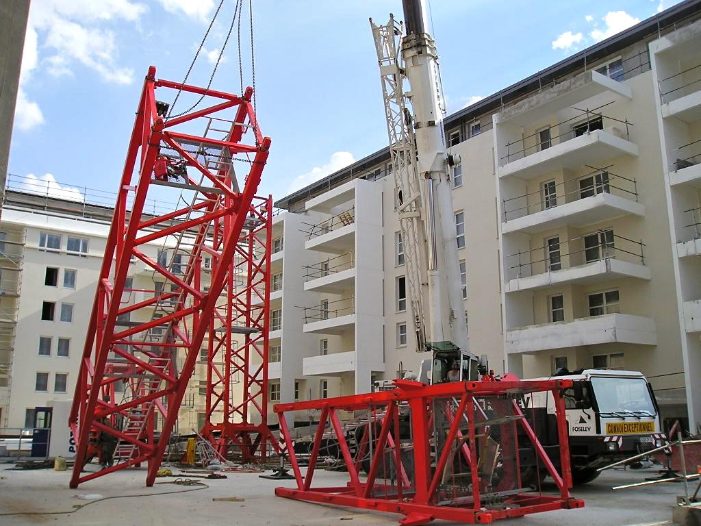 Potain mdt192 h12 capacit de levage max 12 t port e - Residence les jardins de la haye nancy ...
