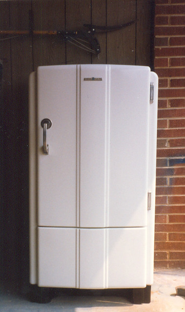 1937 General Electric Refrigerator Art Deco Style Flickr