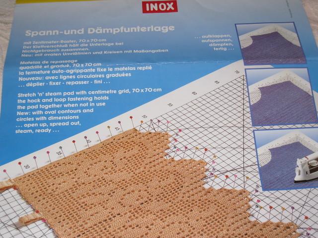Inox Stretch and steam pad