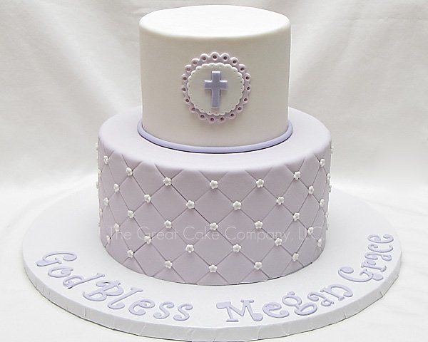 First Communion Cake This was made for my beautiful ...