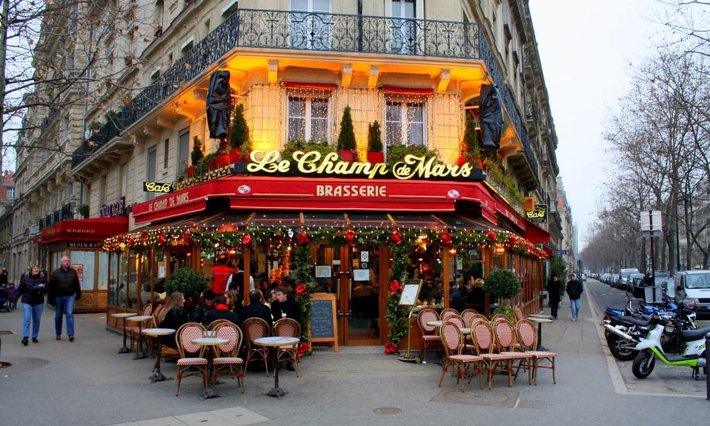 Le Champ de Mars, Paris