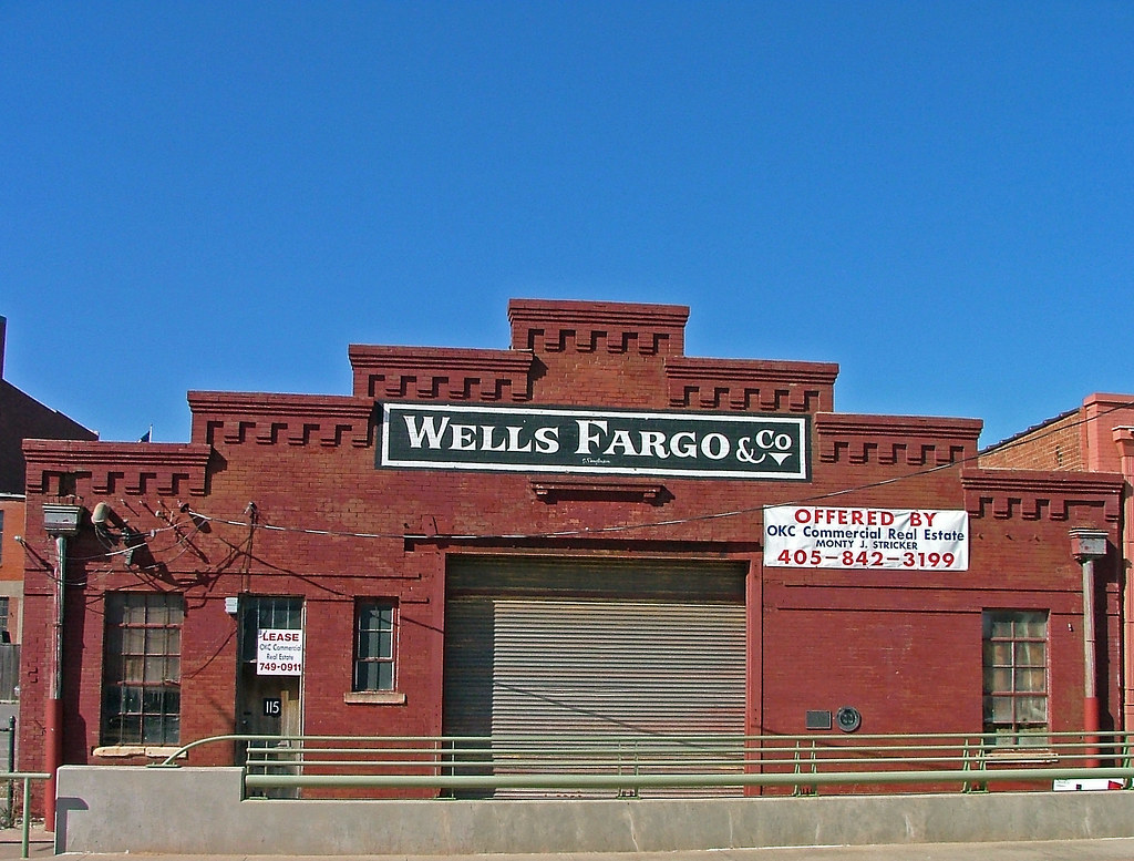 Wells Fargo Building In Bricktown Oklahoma City Oklahoma