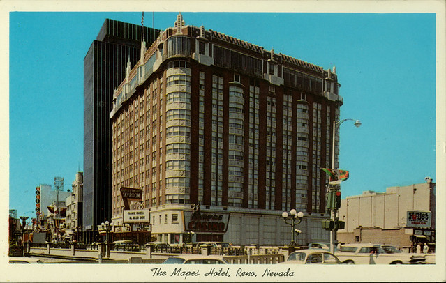 Photos: Renos once-mighty Mapes Hotel