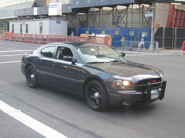 Dodge Charger FBI Car