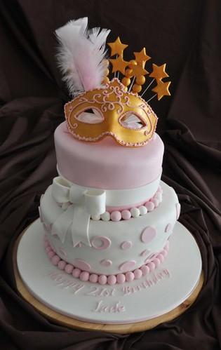 Masquerade Birthday Party Cakes