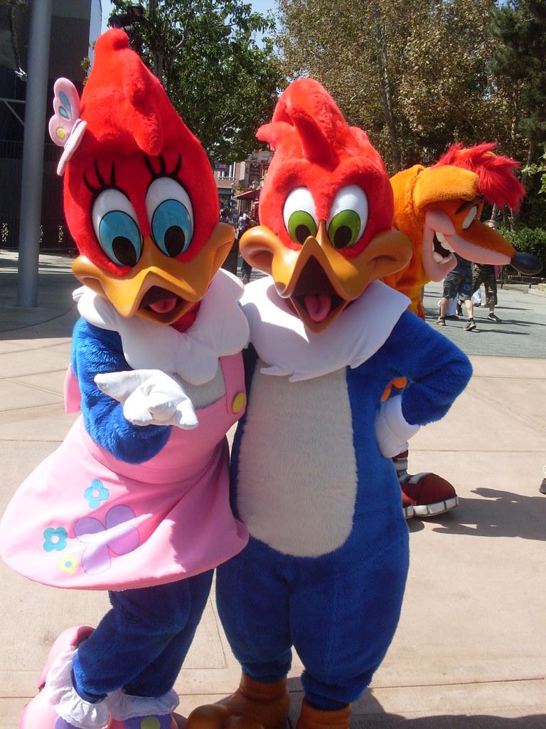 Winnie And Woody Woodpecker Universal Studios Hollywood